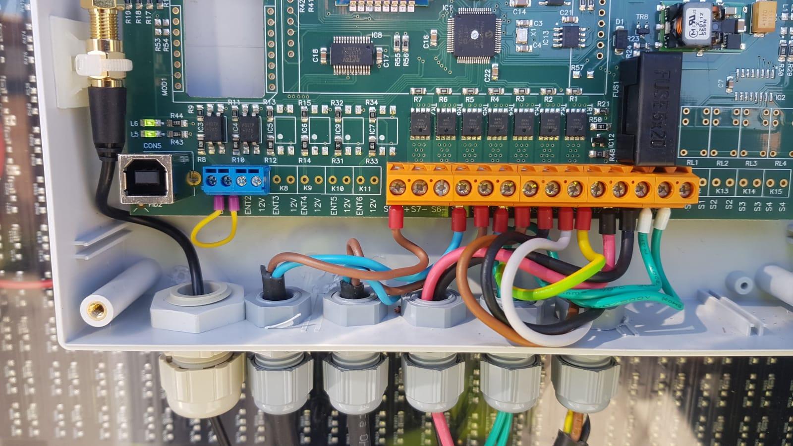Danema Vial - Acabado final de circuitos electrónicos