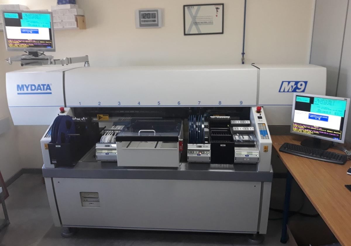 Danema Vial - Máquina de montaje SMD